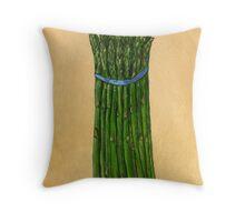 asparagus for us Throw Pillow