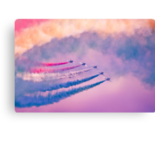 Southport Air Show - Red Arrows Canvas Print