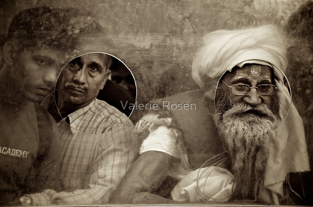 Faces at the Window by Valerie Rosen
