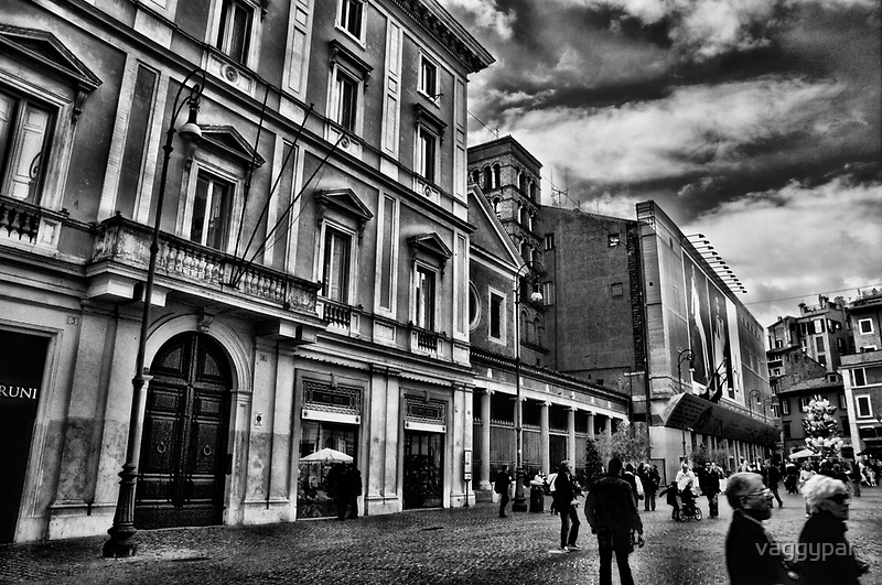 ROME - STREETSCAPE ...(3) by vaggypar