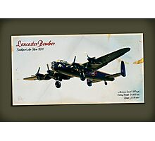 Southport Air Show - Lancaster Bomber Photographic Print