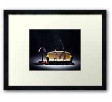 Burnt Out Framed Print
