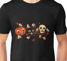 Halloween pumpkin cat skull vintage Unisex T-Shirt