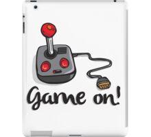 Game on! - Old school 80's computer Joystick iPad Case/Skin