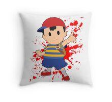 Ness - Super Smash Bros Throw Pillow