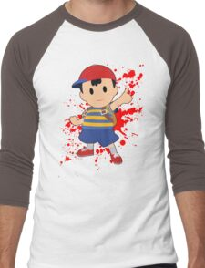 Ness - Super Smash Bros Men's Baseball ¾ T-Shirt