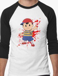 Ness - Super Smash Bros Men's Baseball ¾ T-Shirt