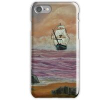 Her Guiding star - Painting iPhone Case/Skin