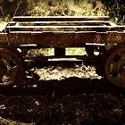 Rusty Old Train Cart by Vanessa Barklay