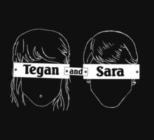 Tegan and Sara Outline by rozle27