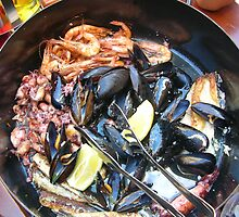 Seafood by Ana Belaj