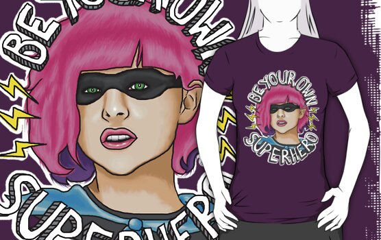 Be Your Own Superhero | Hit Girl by Jessica Morgan