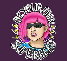 Be Your Own Superhero | Hit Girl Womens Fitted T-Shirt