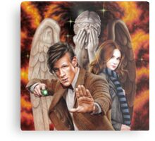 Matt Smith ; The Time of Angels Metal Print