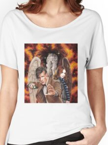 Matt Smith ; The Time of Angels Women's Relaxed Fit T-Shirt