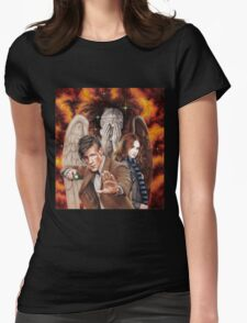 Matt Smith ; The Time of Angels Womens Fitted T-Shirt