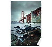 Golden Gate Star Day Poster