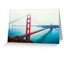 Golden Gate Day Greeting Card