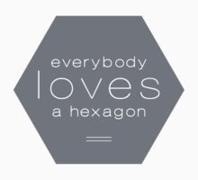 Everybody Loves A Hexagon by peachtrea