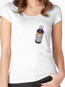 Codeine/lean Women's Fitted Scoop T-Shirt