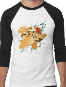Bowser - Super Smash Bros Men's Baseball ¾ T-Shirt
