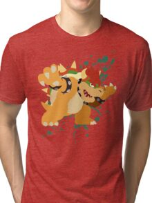 Bowser - Super Smash Bros Tri-blend T-Shirt