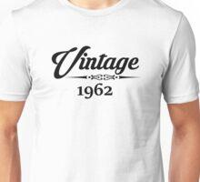 Vintage 1962 Unisex T-Shirt