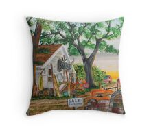 Pickers Gold Mine Throw Pillow