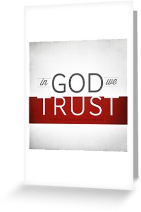 In God We Trust I by Dallas Drotz