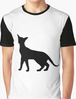 Siamese Cat Graphic T-Shirt