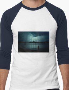 Lightning Men's Baseball ¾ T-Shirt