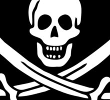 Pirate Flag - Calico Jack Sticker