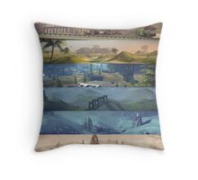 Tribes: Ascend Scenery Poster Throw Pillow