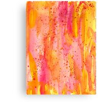 Flame abstract Canvas Print