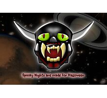 Spooky Nights are Made for Halloween Photographic Print
