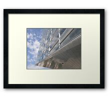 Sky architecture Framed Print