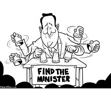 Find The Minister by Alex Hughes