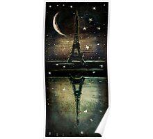 Paris Midnight Poster