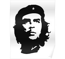 CHE, Che Guevara, Revolution, Marxist, Revolutionary, Cuba, Power to the people! Black on White Poster