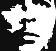 CHE, Che Guevara, Revolution, Marxist, Revolutionary, Cuba, Power to the people! Black on White Sticker