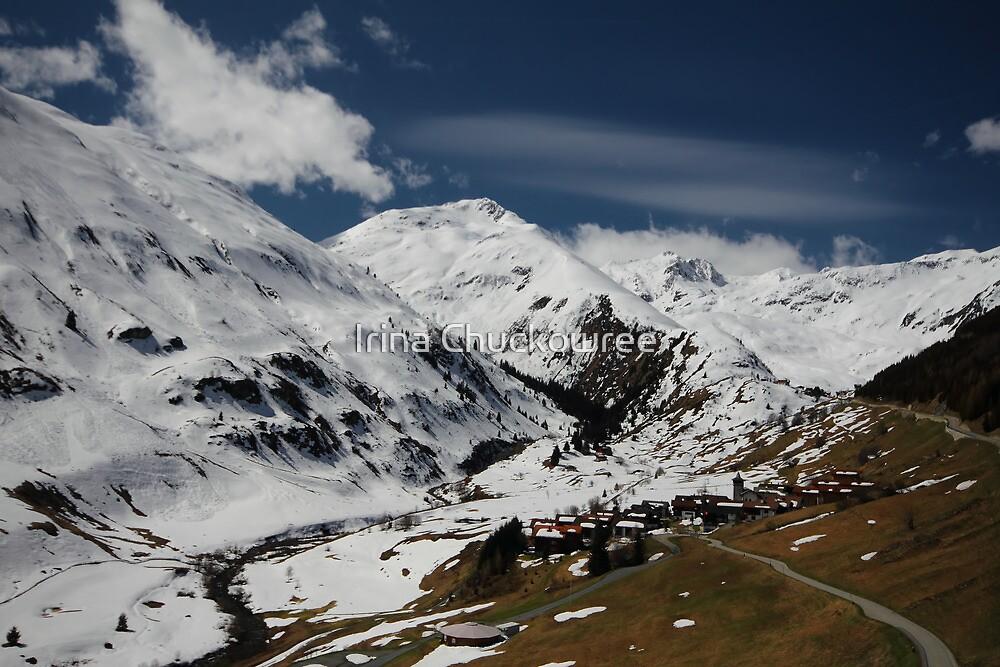 Swiss Alps by Irina Chuckowree