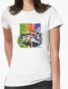 Castle Crashettes Womens Fitted T-Shirt