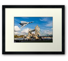 Two Icons, Ancient and Modern Framed Print