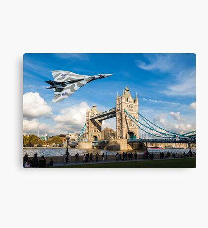 Two Icons, Ancient and Modern Canvas Print