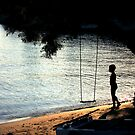 The Swing and the boy by eleni dreamel