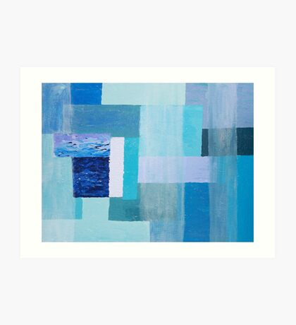Blue Light Art Print