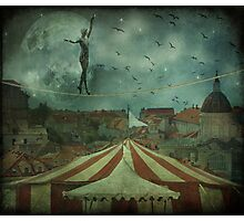 When the circus came to town... Photographic Print