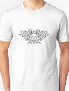 Flaming Bunny  T-Shirt