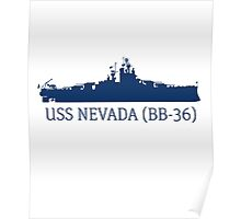USS Nevada Poster