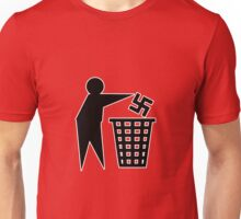 anti nazi human respect against racism Unisex T-Shirt